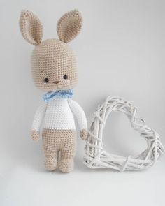 Crochet Animal Amigurumi, Crochet Animal Patterns, Stuffed Animal Patterns, Crochet Animals, Crochet Toys, Knitting Patterns, Easter Crochet, Cute Crochet, Pet Toys