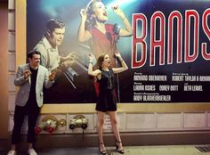 Bandstand - Corey Cott and Laura Osnes Theatre Nerds, Music Theater, Bandstand Musical, Laura Osnes, Hamilton, School Of Rock, Finding Neverland, Bonnie Clyde, Broadway Theatre