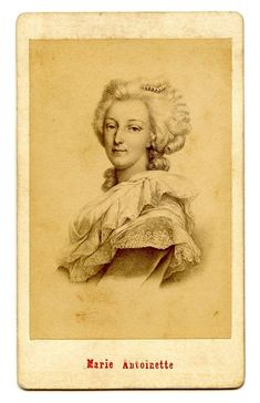 Vintage Graphic Image - Marie Antoinette