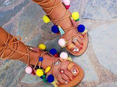 Gladiatorsandals  boho shiv sandals