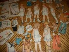 Image result for victorian paper doll cutouts