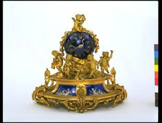 Clock    Place of origin:  Paris, France (made)    Date:  ca. 1855 (made)    Artist/Maker:  Levy Frères (maker)