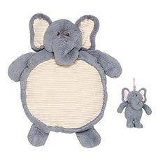 Elephant Stuffed Animal Plush Baby Play Mat 35 inches. #Elephant #Stuffed #Animal #Plush #Baby #Play #inches