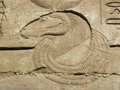 Ram-headed Amun-Ra (beautiful carving)