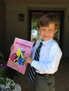 Bren's 1st Piano Recital (age 6 )!