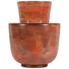 Gio Ponti Vase for Richard Ginori/San Cristoforo | See more antique and modern Ceramics at https://www.1stdibs.com/furniture/dining-entertaining/ceramics