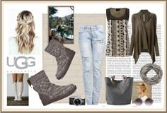 polyvore fashion style Rick Owens Independent Reign Quay maurices UGG Australia Oris #whatimwearing #ugg #ThatOthersMatLive