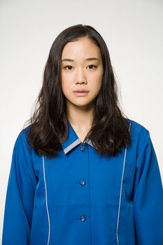 10 Most Anticipated Japanese Movies 2016 - Haruko Azumi Is Missing - アズミ・ハルコは行方不明 (Daigo Matsui) - Psycho-Drama Yu Aoi, Lonely Girl, Hairstyles With Bangs, Japanese Girl, Asian Girl, Chef Jackets, Singer, Actresses, Portrait