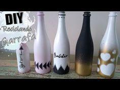 FAÇA VOCÊ MESMO | Reciclando garrafas de vidro + Dicas para vender - YouTube Diy Galaxy Jar, Recycled Glass Bottles, Wine Bottle Crafts, Resin Art, Crafts To Do, Diy Art, Diy Furniture, Glass Art, Decoupage