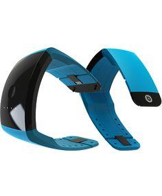 Blue Baako Wearable Battery Power, Worn On The Wrist