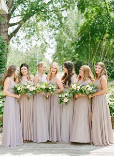 Halifax Wedding Photographer Jacqueline Anne Photography captures pink hued bridesmaid dresses in the Annapolis Valley by Jacqueline Anne Photography Bridesmaid Inspiration, Wedding Photo Inspiration, French Wedding, Wedding Film, Pastel Wedding Theme, Wedding Flowers, Bridesmaid Pictures, Provence Wedding, Film Photography