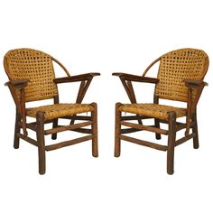1940s American Old Hickory Co. Rocking Chair | Rocking Chairs And Mexican  Designs