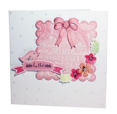 #GreetingCard from the Chalkboard Range! Available to buy at Create & #Craft - http://www.createandcraft.tv/SearchGridView.aspx?fh_location=//CreateAndCraft/en_GB/$s=craftwork%20cards%20chalkboard&gs=craftwork%20cards%20chalkboard #papercraft #cardmaking