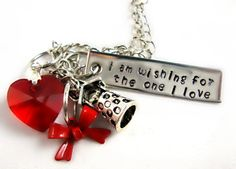 Snow White Necklace by AnimeCoutureJewelry on Etsy, $16.00