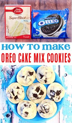 (Only 4 Ingredients) - Never Ending Journeys - - Oreo Cookie Recipe! (Only 4 Ingredients) – Never Ending Journeys Cookies Oreo Cake Mix Cookie Recipes! This easy oreo dessert is such a delicious cookie for any occasion! Dessert Simple, Oreo Dessert Easy, Cake Mix Cookie Recipes, Chocolate Cookie Recipes, Chocolate Chip Cookies, Unique Cookie Recipes, Delicious Cookie Recipes, Easy Oreo Recipes, Oreo Cake