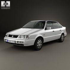 Volkswagen Passat B4 sedan 1993 3D Model .max .c4d .obj .3ds .fbx .lwo .stl @3DExport.com by humster3D @3