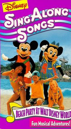 1000 Images About Disney Sing Along Songs Vhs On