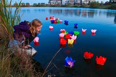 Lantern Festival at Willow Pond. www.cooperscrossing.ca #coopersairdrie