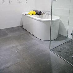 Klinker Concrete Kakelspecialisten Bathroom Inspo, Grey Bathrooms, Corner Bathtub, Plan, Hallways, Search, Interior Ideas, Google, Basement