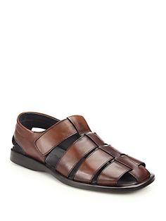 1e92184eb To Boot New York Barbados Fisherman Sandals Mens Cognac Dress Shoes