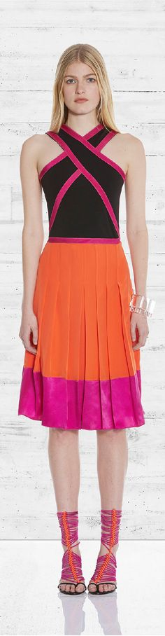 Pre-Fall 2015 Ohne Titel Casual Dresses, Short Dresses, Color Fashion, Style Fashion, Couture Fashion, Ready To Wear, Glamour, Fall 2015, My Style