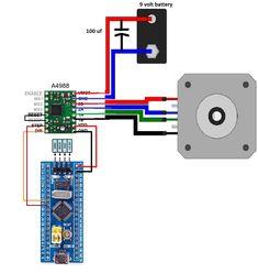 arduino stepper motor control circuit diagram arduino. Black Bedroom Furniture Sets. Home Design Ideas