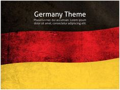 Germany PowerPoint template was designed for demonstrations about Germany. This PowerPoint is intended to be used in historical PPT presentations, but the fresh design of Powerpoint Template Free, Creative Powerpoint Templates, Lorem Ipsum, Presentation, Scrap, Germany, Photoshop, Black And White, Green