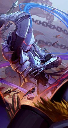 "card game the ""SWORD OF VOW""illustration artwork. Berserker Fate, Gilgamesh Fate, Character Concept, Character Art, Concept Art, Fantasy Armor, Dark Fantasy Art, Fate Zero, Fate Stay Night"