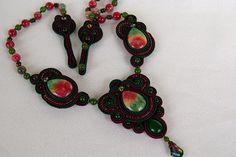 Soutache Necklace | Necklace in the technique of soutache em… | Larissa | Flickr