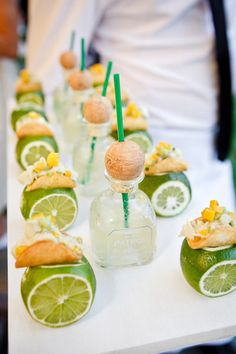 mini tacos and margaritas - the perfect bites for a wedding! #weddinginspiration