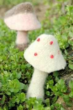 Free Sewing Pattern: Little Mushroom Hunters from Pail and Pie