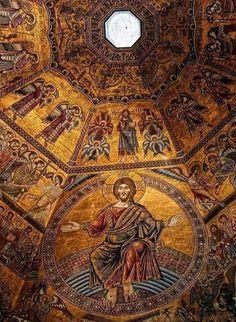 Mosaico del battistero di Firenze.