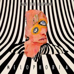 """The artwork for the album """"Melophobia"""" by the band Cage The Elephant was created by artist and graphic designer R Clint Colburn. Cool Album Covers, Album Cover Design, Music Album Covers, Music Albums, Collage Mural, Photo Wall Collage, Cage The Elephant Album, Cover Art, Vinyl Cover"""