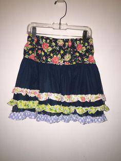 Matilda Jane Meet At Dusk Skirt Size 8 #MatildaJane