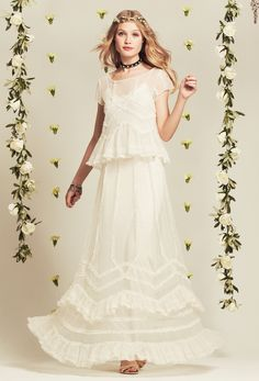 Calypso Bridal Collection #Mariee - Ruffle Top and Skirt