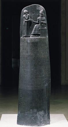 Code of Hamurabi, Babylonian, ca. 1700 B.C.