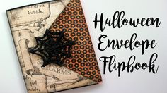 Witchy Halloween Envelope Flipbook // Collab with Halloween Happy | Sere...