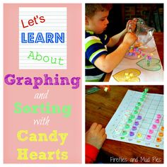Let's Learn About: Graphing and Sorting with Candy Hearts