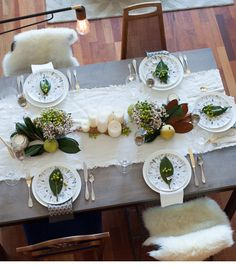 holiday tabletop design with @Anthropologie