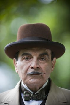 POIROT – Dead Man's Folly filmed at the National Trust's Greenway House – Official Stills for ITV & National Trust. Agatha Christie's Poirot, Hercule Poirot, Dead Man's Folly, Mystery Show, Bbc Tv Shows, Miss Marple, British Actors, Classic Films, Sherlock Holmes