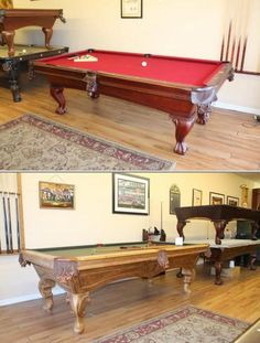 Beck's Billiards specializes in providing pool table moving and setup services. They also offer pool table repair services. They will purchase used pool tables.