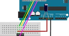The data from Sensor send to Arduino UNO and then displaying the humidity and temperature on the LCD Display. Parts List Arduino UNO LCD display Arduino Wireless, Light Sensor Switch, Automatic Watering System, Temperature And Humidity, Programming, Digital, Archive, Display, Link