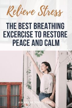Find out the best breathing exercise to help calm, renew and relieve stress. Learn how deep breathing can help you be healthier. Skin Care Routine For 20s, Self Care Routine, Skincare Routine, Anxiety Relief, Stress And Anxiety, Anxiety Help, Wellness Tips, Health And Wellness, Mental Health