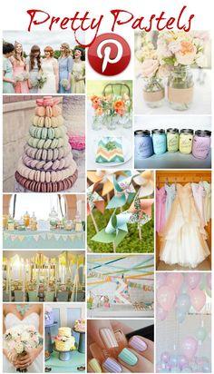 Boho Pins: Pretty Pastels - Boho Weddings™