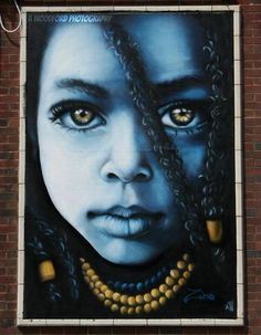By London-based artist Zina her eyes r calling you.....