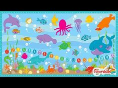 ABC Sea Song - Teach Alphabet & Counting with Starskills Sea Song