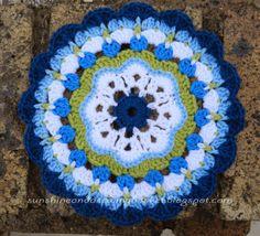 Maybelle Flower Mandala Patter ~ free pattern