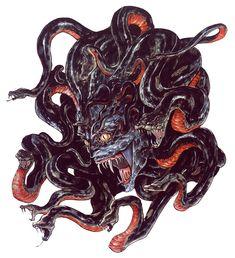 Castlevania: Artwork Medusa
