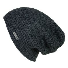 - Description - Specs - Washing - Mens Slouchy Beanie - This over-sized beanie is a King & Fifth classic, sure to become your new favorite. It is hand-crocheted out of our super cozy acrylic yarn with