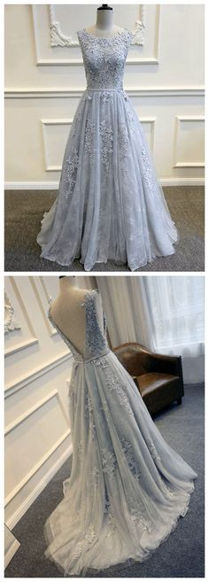 Backless Prom Dress,Applique Prom Dress,Illusion Prom Dress,Fashion Prom